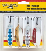 Набор блесен Williams 4TTK Trout Troukking Kit