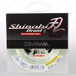 Плетеная леска DAIWA Shinobi Braid - 10 Lb (0.12мм) - 135м (ярко-жёлтая)