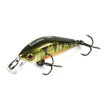 Воблер JACKALL Chubby Minnow 35 ghost g perch