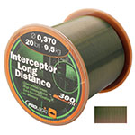 PROLOGIC  Леска Interceptor Long Distance 300m 17lbs 8.4kg 0.331mm Green 44682