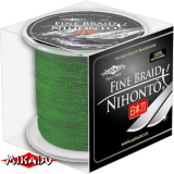 "Плетеный шнур "" Mikado "" NIHONTO FINE BRAID GREEN 0,23 ( 300м ) - 20,20кг (Z20G-023)"