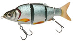 Воблер Izumi Shad Alive 5 section white fish 105 (FLOATING) №1